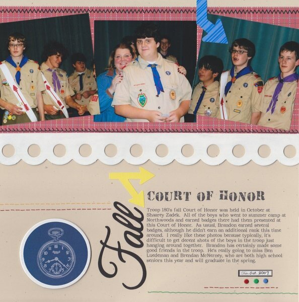 Fall Court of Honor