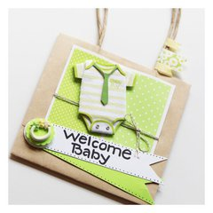 Welcome Babay - Shower Gift Bag/Favor