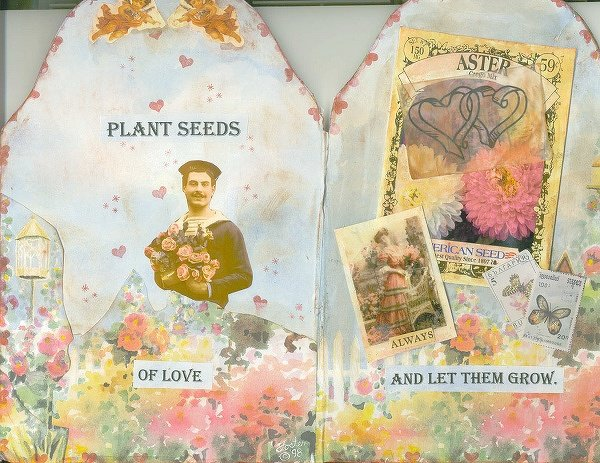 "Love AB:  ""Plant seeds of Love"""