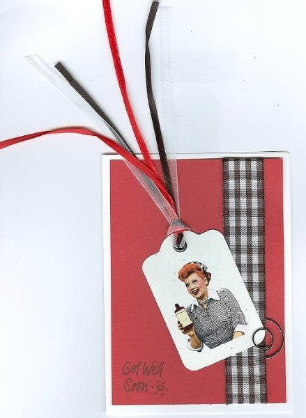 I love lucy cards -- scraplift  from Laurel Jean