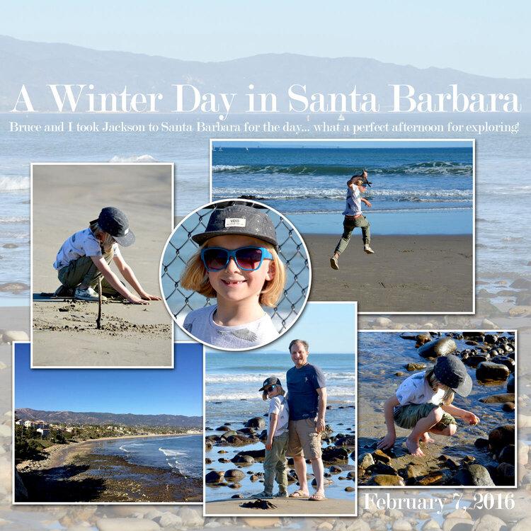 A Winter Day in Santa Barbara