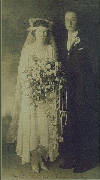 Collage Share- Vintage Wedding Photos