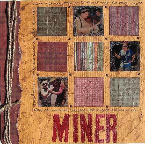 Disney's Calif. Adv. Miner 49ers