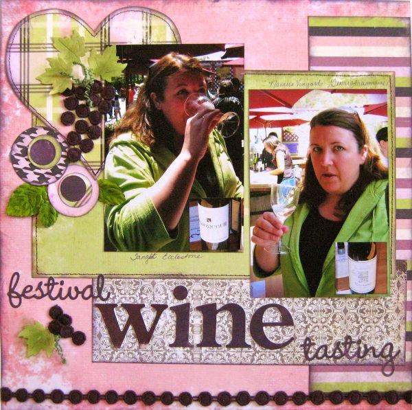 Wine Tasting Disney Style - Scrap Within Reach
