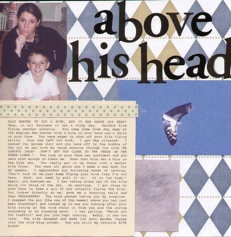 ~ABOVE HIS HEAD~ *Fontwerks*