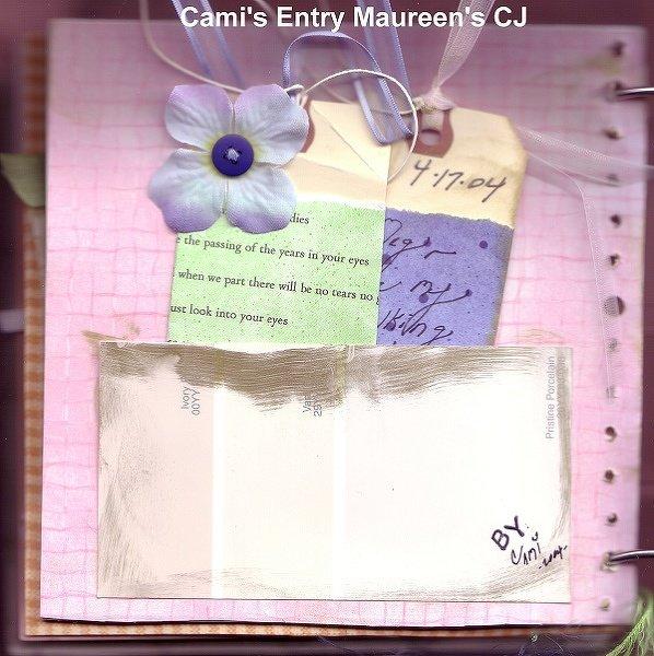 Cami's Entry in Maureen's CJ~Girls