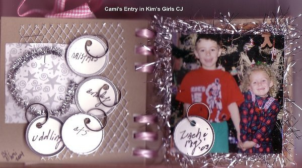Cami's Entry in Kim's~DD's Fav Things