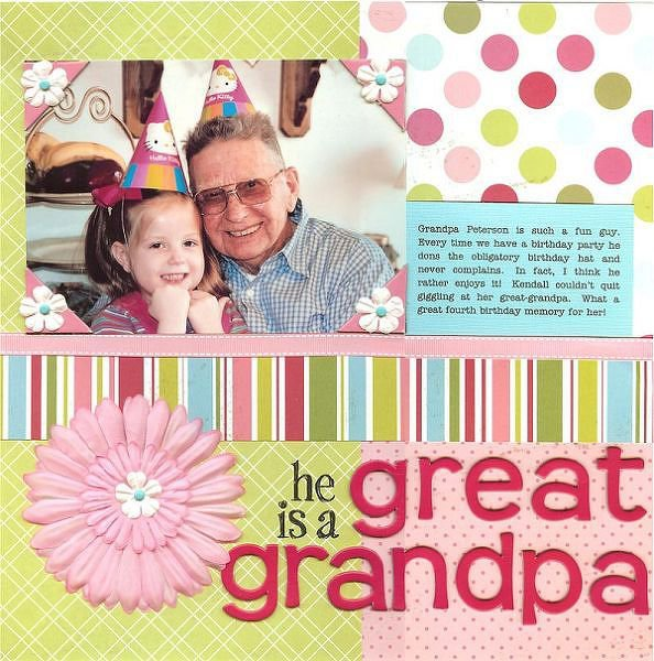 He is a Great Grandpa