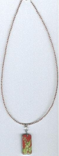 Lily domino necklace