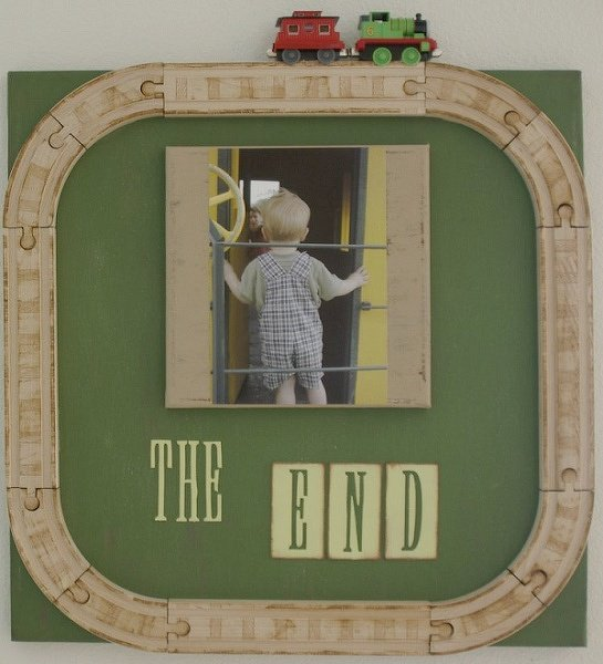 The End, a Canvas design inspired by...