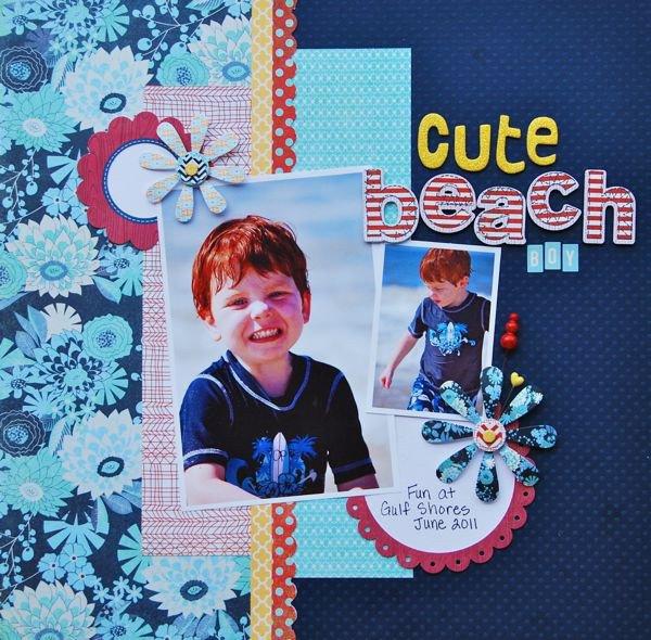 Cute Beach Boy
