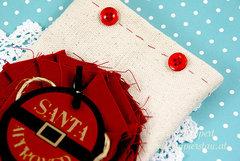 Canvas present bag