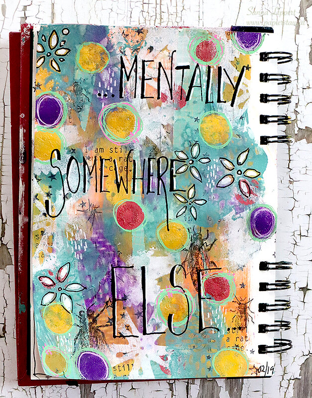 Mentally Somewhere Else AJ page
