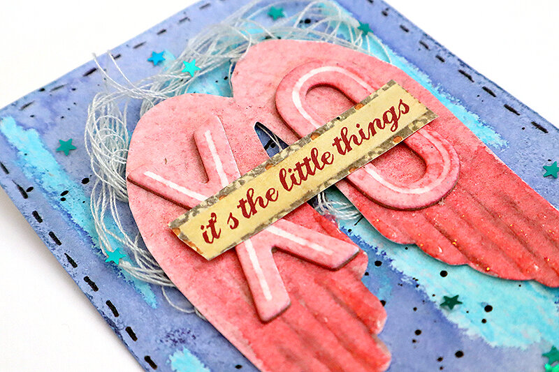 Love themed ATC set