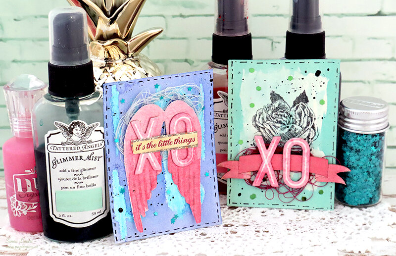 Love themed ATC set