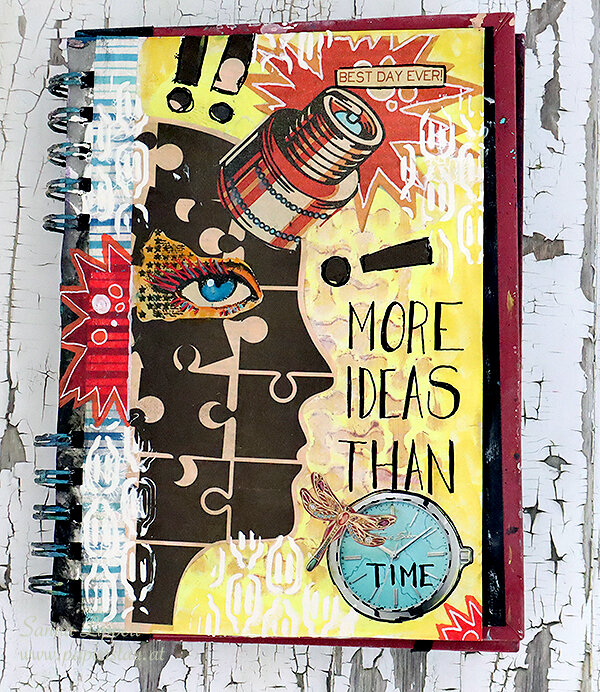 More ideas than time AJ page