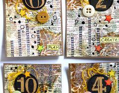 A set of ATC cards