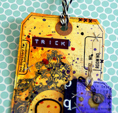 Trick or Treat Halloween Tag