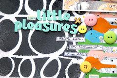 Happy little pleasures