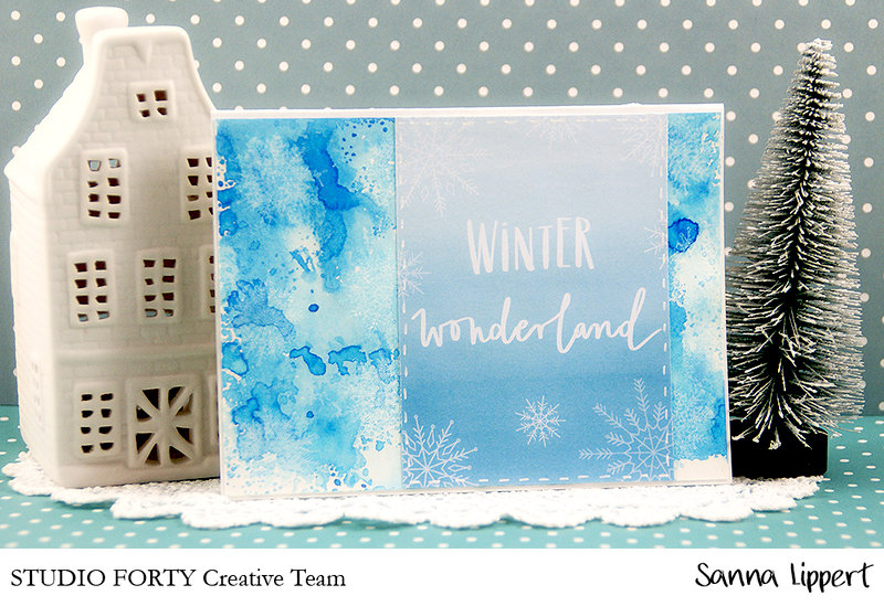 Clean and simple Xmas cards