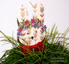 Easter flower decor