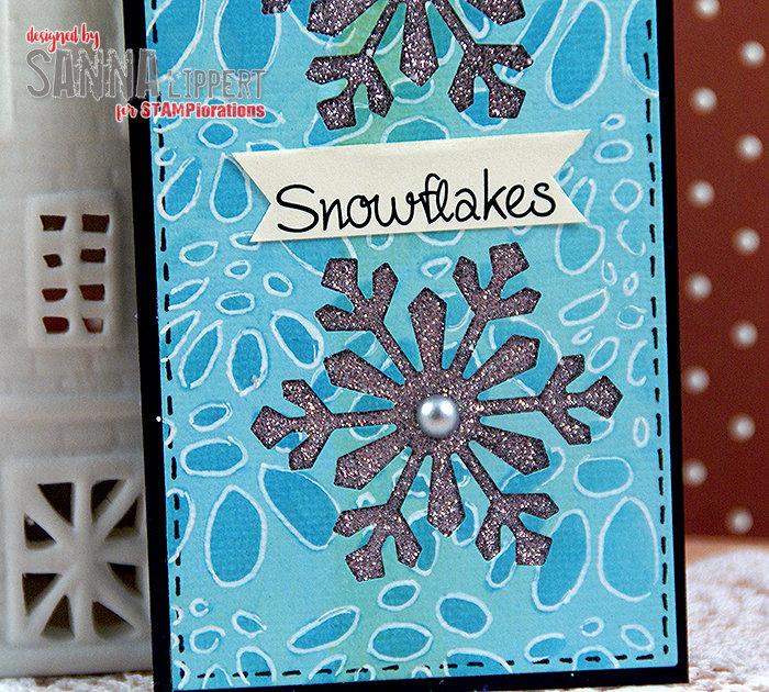 Snowflakes tag