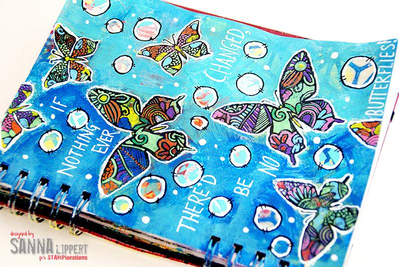 No butterflies