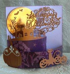 A Halloween Bendi Card for an Adult