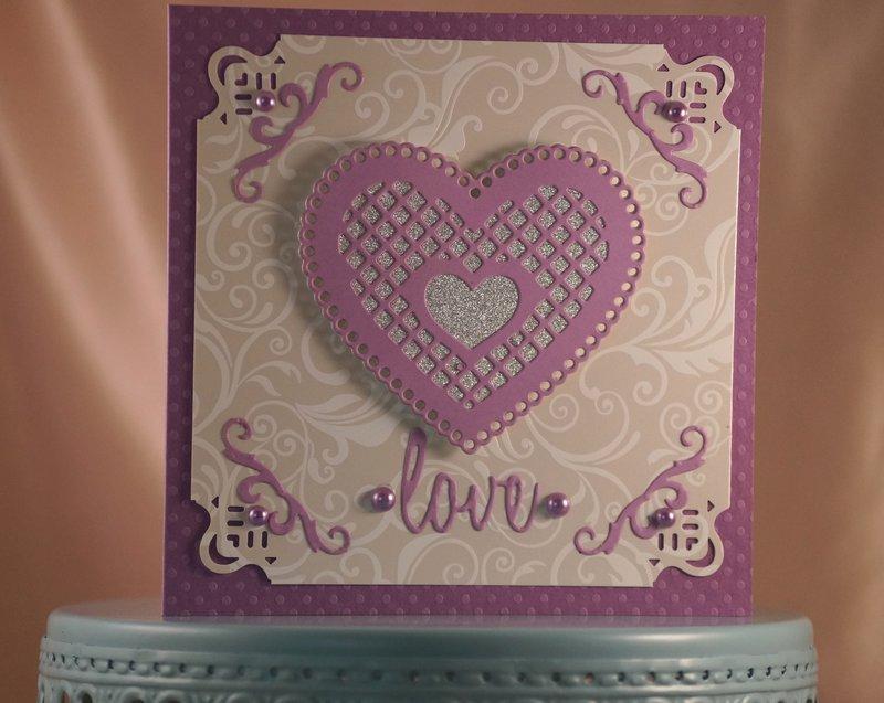 Hearts - Purple (in a good way)