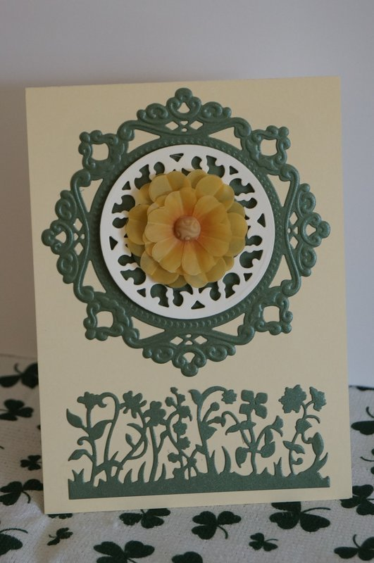 Complex St. Patrick's Day Card