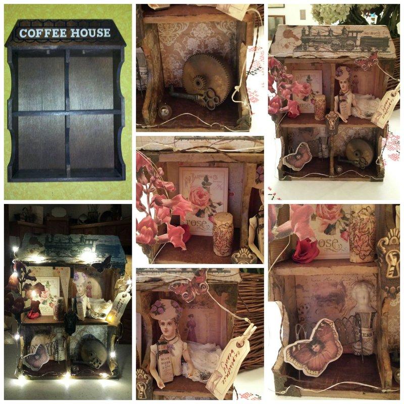 Upcycled Coffee Mug Cubby