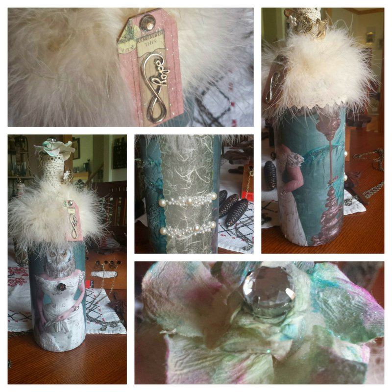 The Owl Bride Bottle