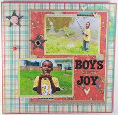 Boys Bring Joy