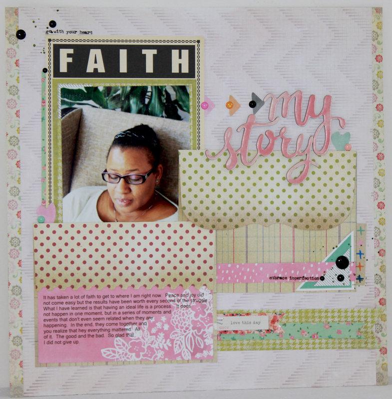 Faith:  My Story