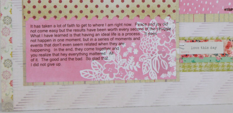 Faith:  My Story