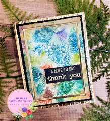 Vintage Floral Featuring Tim Holtz Products