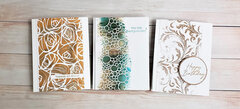 Three Cards Three Texture Pastes