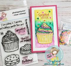 Sweet Treat Mini Slimline Card