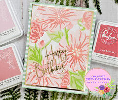 Pink Fresh Studio Floral Focus
