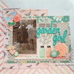 She is my garden girl