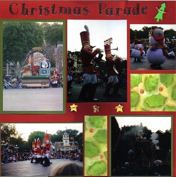 Disney Christmas Parade 2004