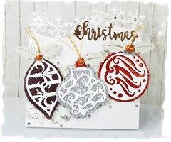 Ornamental Christmas Card