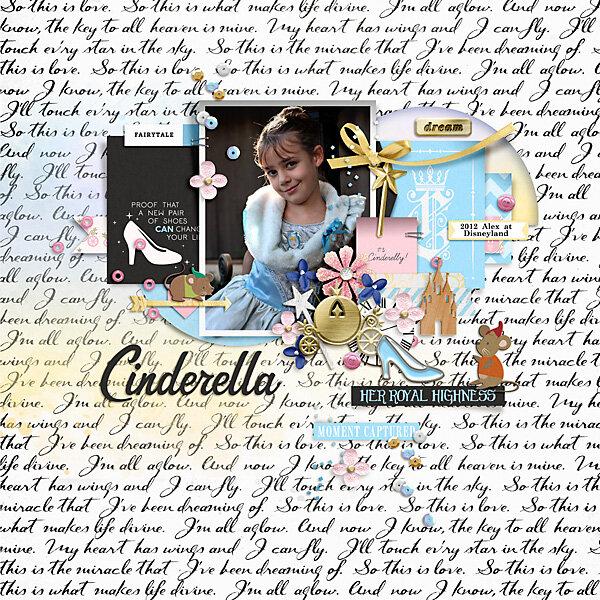 2012 Alex as Cinderella
