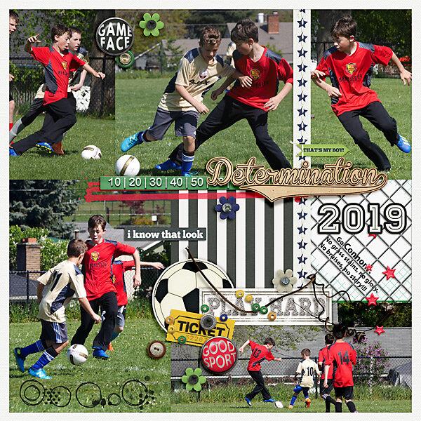 2019 Determination Connor