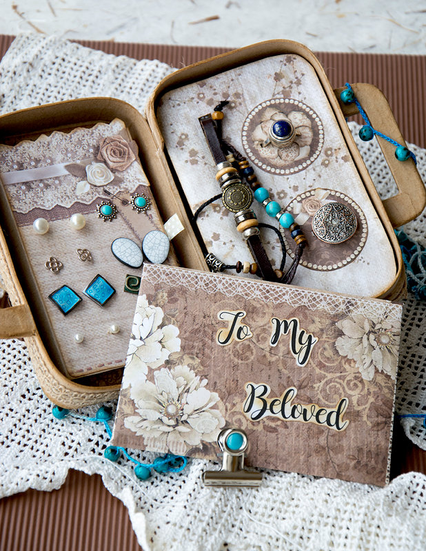 Jewelry Mini Suitcase