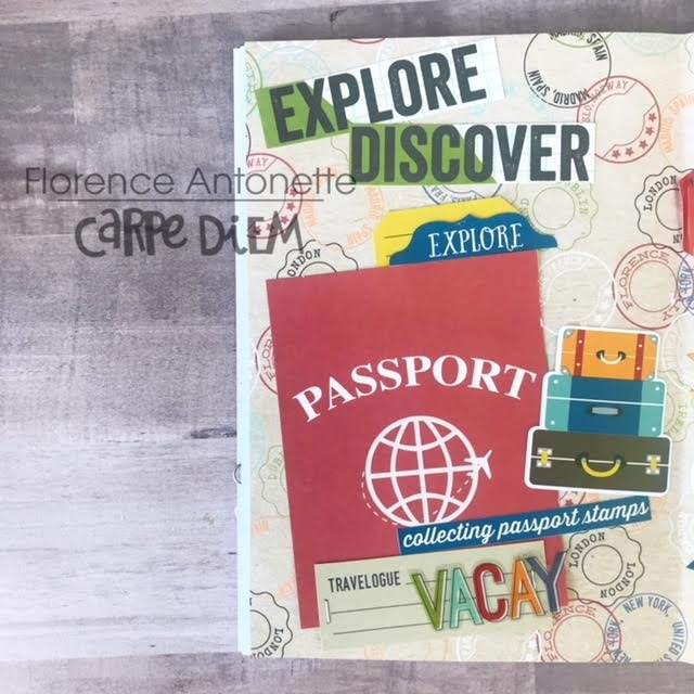Travel, Explore, Discover- Simple Stories