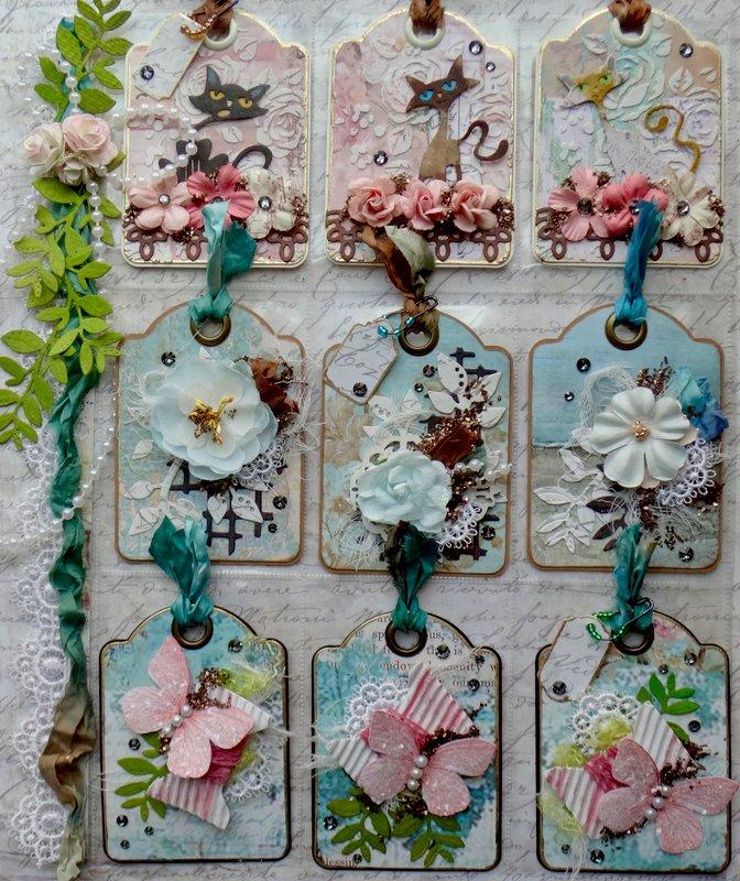 Tags Pocket Letter (for Elizabeth)