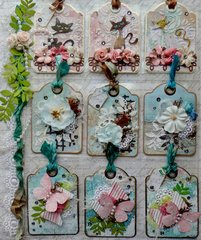 Tags Pocket Letter (for Elizabeth)
