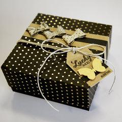 An elegant gift box