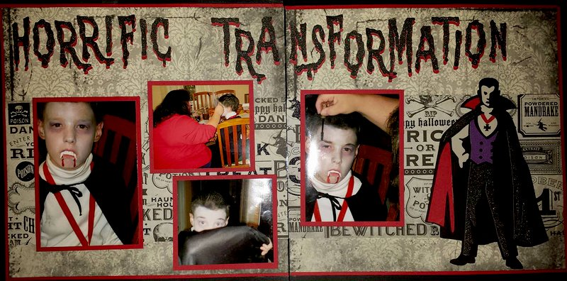 Horrfic Transformation